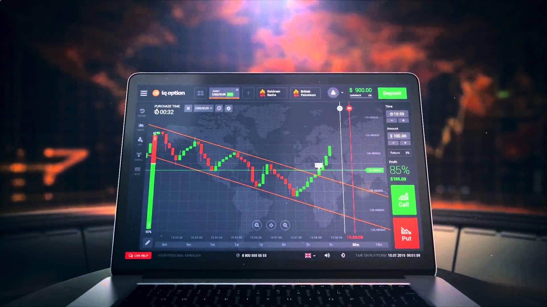 Trade Binary Options on Iq Option