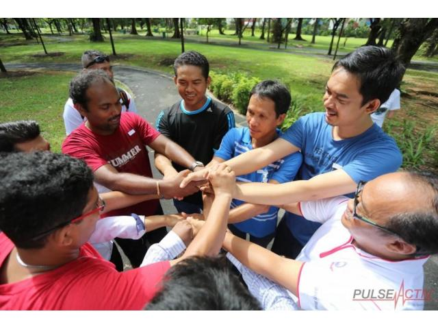 corporate team building workshops singapore